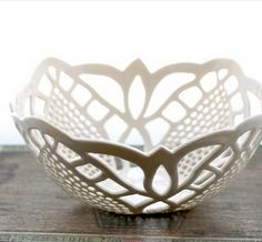 Small lace bowl