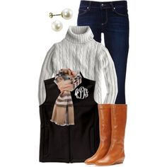 A fashion look from November 2013 featuring long sleeve sweaters, Paige Denim and Loeffler Randall. Browse and shop related looks.