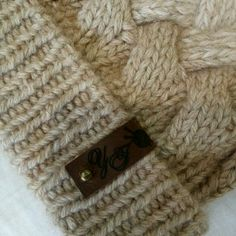 Шапка плетенка