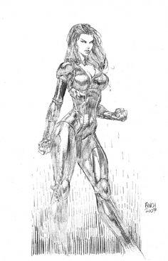 Jakita by David Finch Comic Art