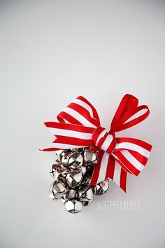 Jingle Bell Ornament Tutorial by Whipperberry