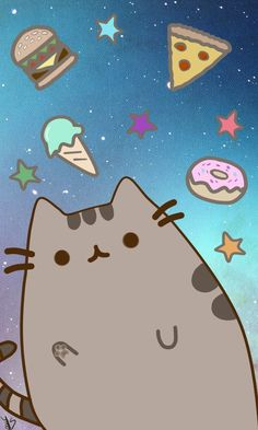 Pusheen Wallpaper Computer Wallpaper Pusheen The Cat