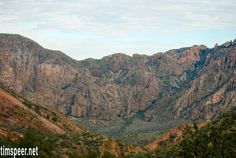 Chisos Mountains, Big Bend National Park, Texas. Photography by Tim Speer