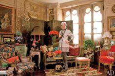 Fashion Icon & Interior Designer: Iris Apfel Photograph Credit: Architectural Digest