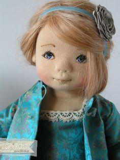 Maylyn - soft sculpted OOAK cloth doll by Lalinda. Doll Clothes Patterns, Doll Patterns, Fabric Dolls, Paper Dolls, Doll Toys, Baby Dolls, Homemade Dolls, Doll Tutorial, New Dolls