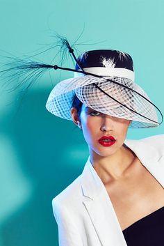 Lisa Tan Millinery   Daniela   Black and Cloche Hats   LOVEHATS.COM