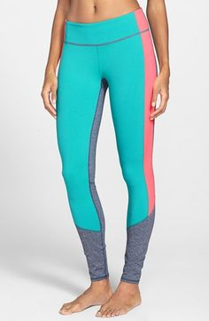 Zella 'Live In - Triple Blocked' Leggings available at #Nordstrom