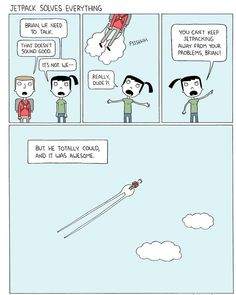 Jetpacks solve everything