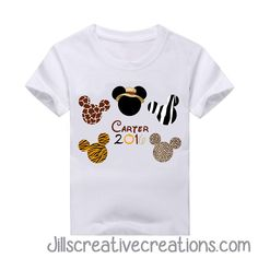 Mickey Mouse Animal Kingdom T-Shirt