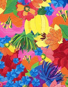 Cut Flower - Lunelli Textil | www.lunelli.com.br