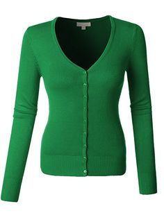 United colors of Benetton kelly green v neck cardigan