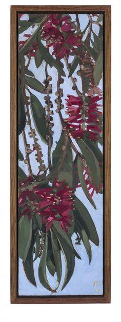 BANANAS IN BOWL by JUDITH SINNAMON represented by Edwina Corlette Gallery - Contemporary Art Brisbane
