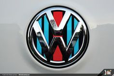 2215.0105 VW Rear Badge Insert, Racing Livery M (F01)