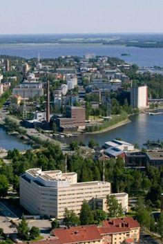 Vaasa, Finland--on the western coast.