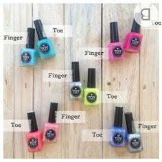How do you mix and match? Toe Nail Color, Nail Colors, Nail Color Combinations, Toe Polish, Toe Nails, Pedi, Pretty Nails, Hair And Nails, Nail Designs