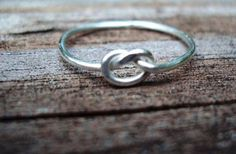 GroopDealz | Sterling Silver Love Knot Ring