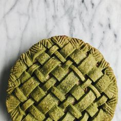 Delicious Vegan Matcha Apple Pie