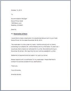 Reservation letter dzeo reservation letter spiritdancerdesigns Gallery