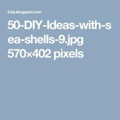 50-DIY-Ideas-with-sea-shells-9.jpg 570×402 pixels