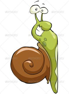 Realistic Graphic DOWNLOAD (.ai, .psd) :: http://jquery.re/pinterest-itmid-1001870429i.html ... Snail ...  animal, armor, cartoon, cochlea, crawl, fun, green, insect, isolated, shell, slug, smile, snail, up, vector  ... Realistic Photo Graphic Print Obejct Business Web Elements Illustration Design Templates ... DOWNLOAD :: http://jquery.re/pinterest-itmid-1001870429i.html