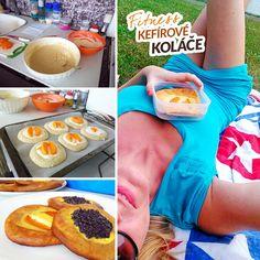 Fitness kefírové koláče bez kynutí zdravý recept Bajola Great Recipes, Snack Recipes, Healthy Recipes, Kefir, Mashed Potatoes, Food Porn, Food And Drink, Low Carb, Chips