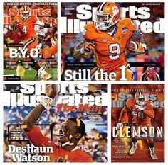Go Clemson Tigers!!! Bebe'!!! Beat Alabama!!! Number One for the NCAA Championship!!!