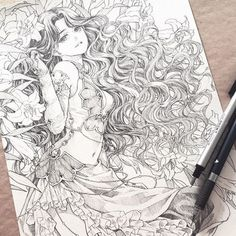 Full picture ^w^ Pencil commission of Scheherazade from Trinity Blood . I'll open a small batch of watercolor sketch commissions. More details tomorrow ^w^ Art Anime, Anime Art Girl, Character Sketches, Character Art, Manga Drawing, Manga Art, Trinity Blood, Arte Indie, Watercolor Sketch