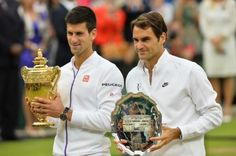 7/12/15 Novak Djokovic is the 2015 #Wimbledon champion beating 7-Time Champion Roger Federer in Sunday's final for the second straight year 7-6, 6-7, 6-4, 6-3 to win his 3rd title!