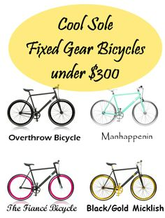 Gifts: Cool Sole Fixed Gear Bicycles under $300, http://www.myhabit.com/redirect/ref=qd_sw_ev_pi_li?url=http%3A%2F%2Fwww.myhabit.com%2F%3Ftag%3Dmypinintitem-20%23page%3Db%26dept%3Dmen%26sale%3DA1W7YL8POBJUF3