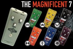 Gearjunkies.com: RotoSound Introduces Six New Effects Pedals