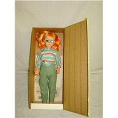 Mint in Box 1960 Vogue Brikette Doll