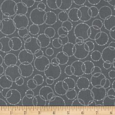 Dazzle Random Circles Grey from @fabricdotcom  Designed by Patrick Lose for Robert Kaufman, this cotton print fabric is perfect for quilting, apparel and home decor accents.