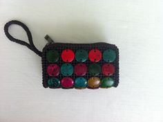 Beaded Coin purse / Wallet by NephilimShop on Etsy