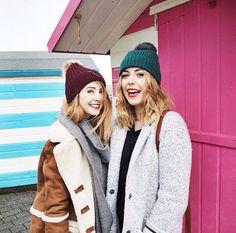 Zoe Sugg and Poppy Deyes