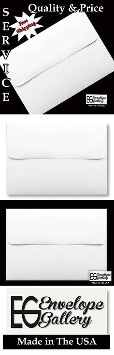 Greeting Cards and Invitations 170098: White A9 A7 A6 A2 A1 Envelopes For Cards Invitations Announcements Weddings -> BUY IT NOW ONLY: $69.77 on eBay!