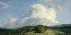 Rolling In by Josh Clare - Greenhouse Gallery of Fine Art Abstract Landscape, Landscape Paintings, Sky Painting, Fantasy Paintings, Traditional Paintings, Sky And Clouds, Plein Air, Painting Inspiration, New Art
