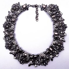 Black Statement Necklace Jewelry