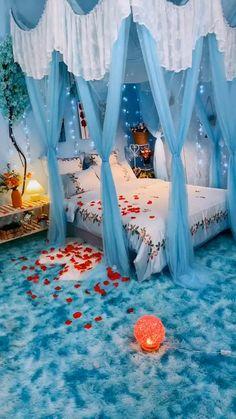 Room Design Bedroom, Home Room Design, Bedroom Styles, Home Decor Bedroom, Bedroom Ideas, Indian Room Decor, Indian Bedroom, Ethnic Home Decor, Dream Rooms