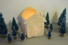 How to make your own Primitive salt dough houses! Christmas Mantels, Christmas Crafts, Christmas Decorations, Christmas Stuff, Make Your Own, Make It Yourself, How To Make, Diy And Crafts, Crafts For Kids