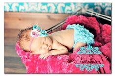 Precious! SALE Choose One Chiffon Ruffle Bum Baby Bloomer by my2lilpixies, $8.75