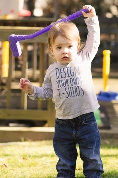 Design your own kids tees at UberPrints.com! #uberprints kids diy, kids crafts…