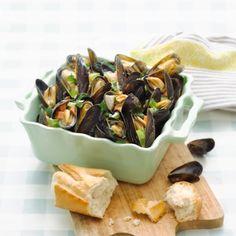 Vlaamse mosselen met selderij en room recept Yummy Food, Delicious Food, Good Food