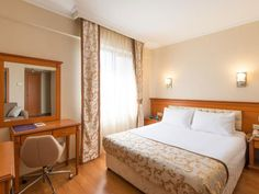 Istanbul Prestige Hotel Turkey, Europe Prestige Hotel is a popular choice amongst travelers in Istanbul, whether exploring or just passing through. Featuring a complete list of amenities, guests will find their stay at the property a comfortable one. To be found at the hotel are free Wi-Fi in all rooms, 24-hour front desk, 24-hour room service, facilities for disabled guests, express check-in/check-out. Guestrooms are designed to provide an optimal level of comfort with welcom...