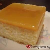Πορτοκαλόπιτα με κρέμα Greek Sweets, Recipe Images, Greek Recipes, Butter Dish, Coffee Cake, Cheesecake, Candy, Baking, Desserts