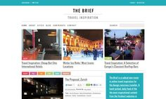 The Brief - Content Heavy Web Inspiration