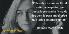 El 23 de julio de 2000 #TalDíaComoHoy falleció la escritora española Carmen Martín Gaite, una de las figuras más importantes de las letras hispánicas del siglo XX.