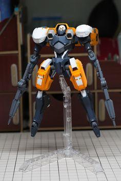 Gundam Family: Iron-Blooded Orphans HG 1/144 Hyakuri Custom Build