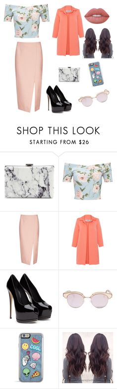 """Sin título #4"" by flolinda ❤ liked on Polyvore featuring Balenciaga, Miss Selfridge, C/MEO COLLECTIVE, D.Exterior, Le Specs Luxe and Lime Crime"