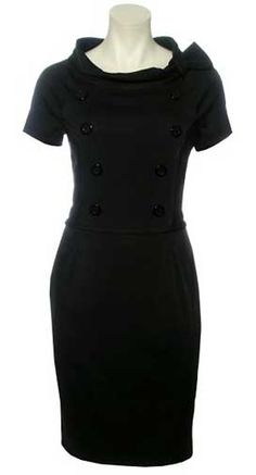 Dress of the Day: Kaliko Sculpted Office Dress >> The Fashion Police