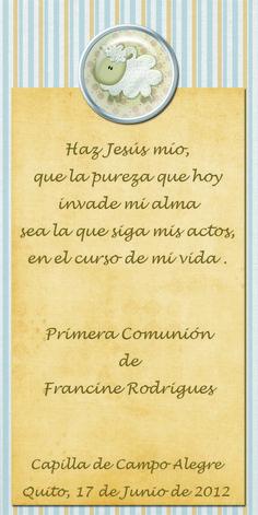 Texto 1a comunión